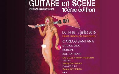 Guitare en scène