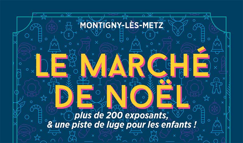 Marche De Noel Montigny Les Metz Arcade R 233 Ception