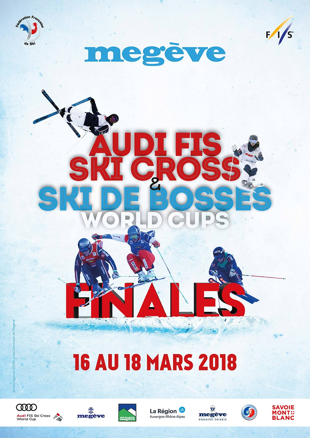 Arcade Réception - Ski Cross Megève 2018