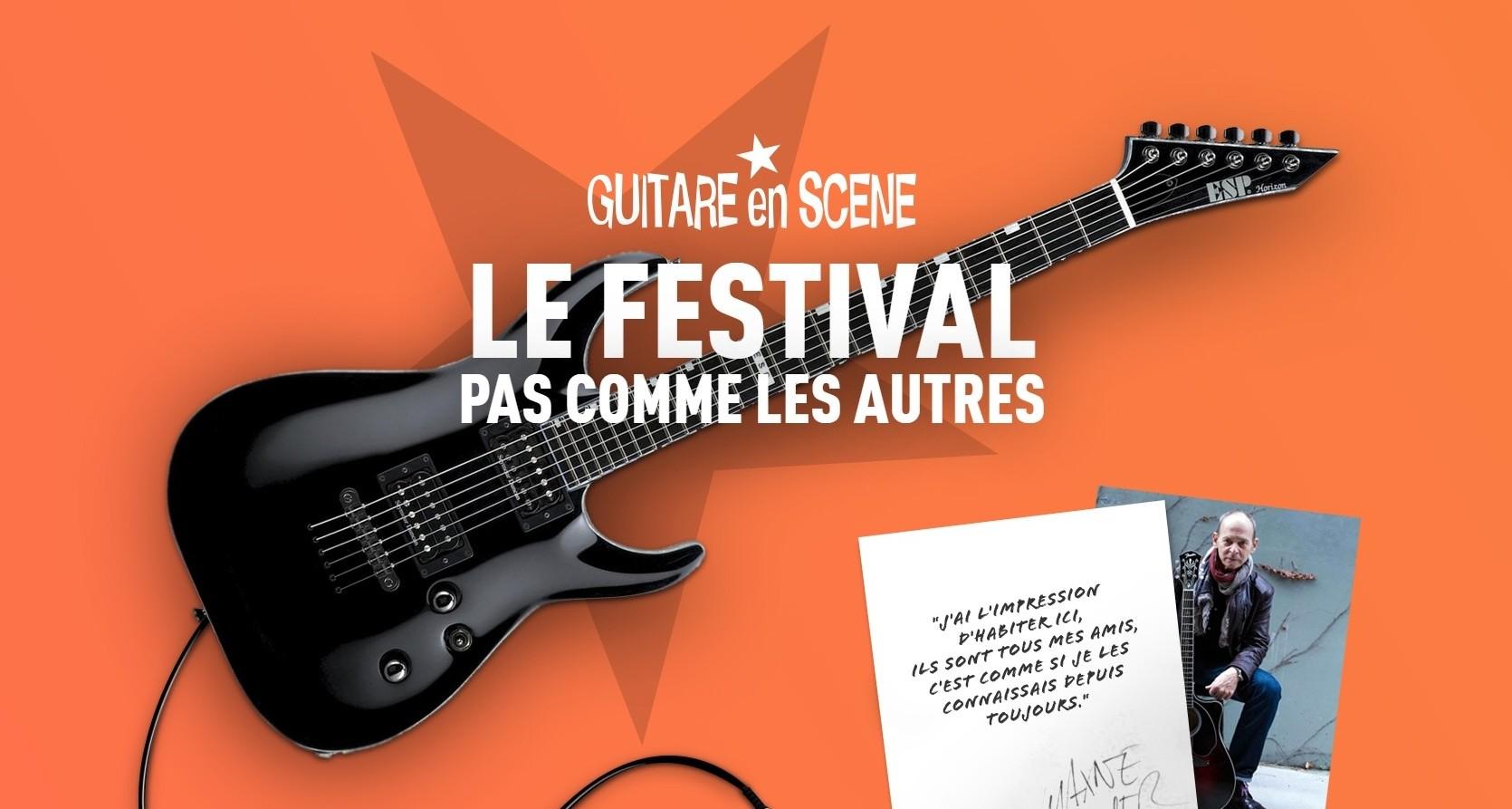 Tentes et Chapiteaux au festival guitare en scène
