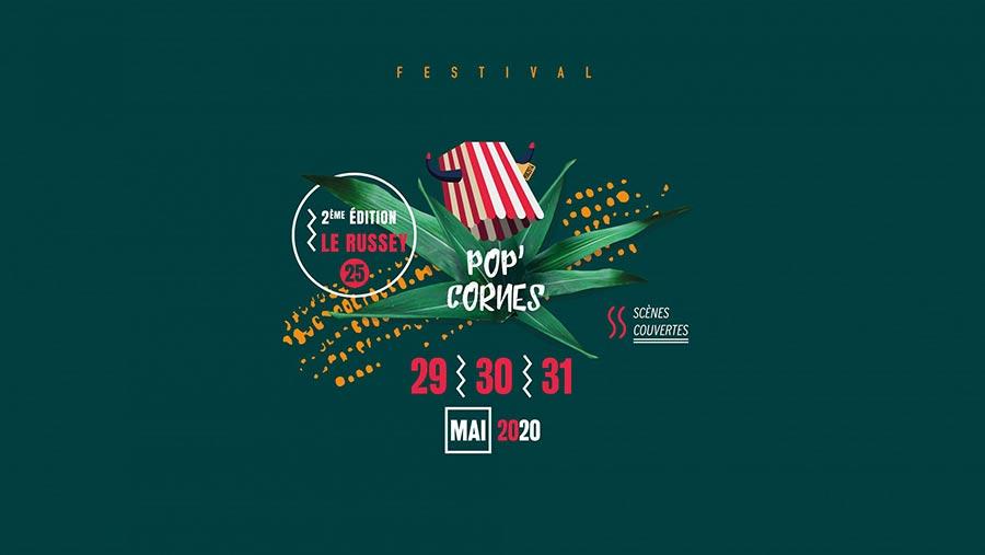 Tentes et Chapiteaux pour le festival pop'cornes